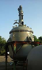 Реактор нержавеющий 5 м³