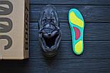 Кроссовки Adidas Yeezy 500 Utility Black.  Живое фото. (Реплика ААА+), фото 2