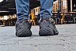 Кроссовки Adidas Yeezy 500 Utility Black.  Живое фото. (Реплика ААА+), фото 4