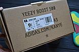 Кроссовки Adidas Yeezy 500 Utility Black.  Живое фото. (Реплика ААА+), фото 3