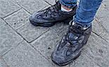 Кроссовки Adidas Yeezy 500 Utility Black.  Живое фото. (Реплика ААА+), фото 5