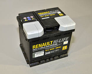 АккумуляторL1 50AH на Renault Scenic III- Renault (Оригинал) - 7711238596