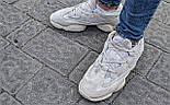 "Мужские кроссовки Adidas Yeezy 500 ""Blush"".  Живое фото. (Реплика ААА+), фото 3"