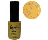 Гель-лак Tertio №190 золотой с крупными блестками 10 мл