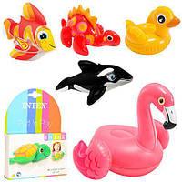 Надувные игрушки Intex 58590 (рыбка, дракончик, уточка и т.д)