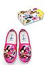 Слипоны для девочек оптом, Disney, 28-35 рр.,  № 860-414