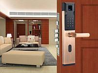 Дверные замки, запоры, защёлки с электронным управлением.