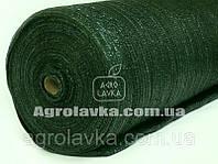 Сетка затеняющая 75% затенения, 6м*50м, зелёная, Турция