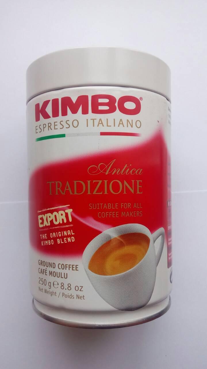Молотый кофе Kimbo Antica Tradizione ж/б  250 грамм