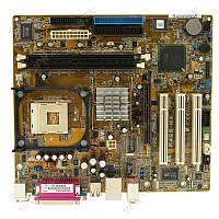 Материнская плата s478 Asus P4GE-MX/L ( Intel 845GE, 2xDDR, 3xIDE, VGA ) бу