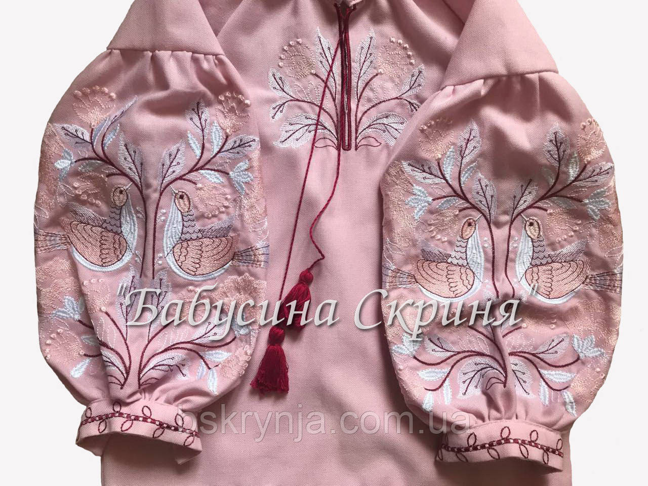 Сорочка дитяча МВ-08 рожева