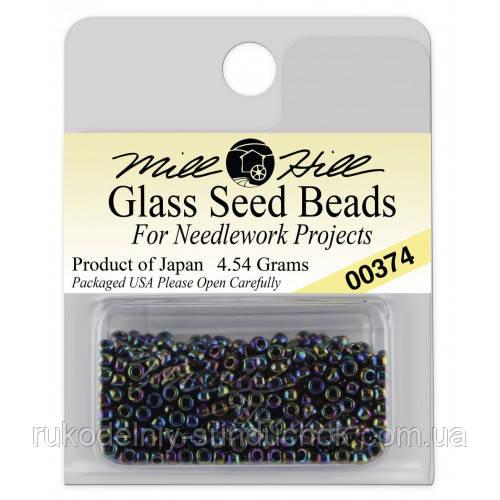 00374 бисер Mill Hill, 11/0 Rainbow Glass Beads