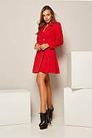 Платье-пиджак с юбкой плиссе, фото 1