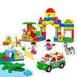 Конструктор JDLT 5029 Зоопарк на 72 детали аналог Lego Duplo, фото 5