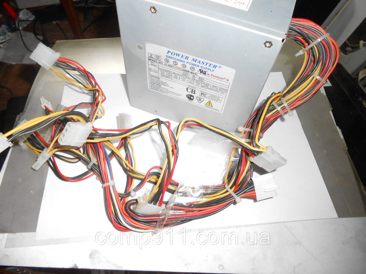 Блок питания Power Master JJ-300T 300w w