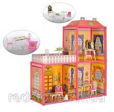 Домик для кукол 6984 2-х этажный с мебелью