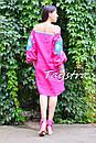 Туника платье вышиванка лен, стиль бохо шик, вишите плаття вишиванка, Bohemian,стиль Вита Кин, фото 5
