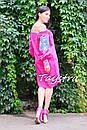 Туника платье вышиванка лен, стиль бохо шик, вишите плаття вишиванка, Bohemian,стиль Вита Кин, фото 4