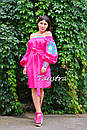 Туника платье вышиванка лен, стиль бохо шик, вишите плаття вишиванка, Bohemian,стиль Вита Кин, фото 10