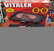 Электрическая сковорода гриль VITALEX VT-65 (5 режимов) 2000W, фото 2