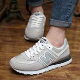 Кроссовки в стиле New Balance 520 серые, фото 6