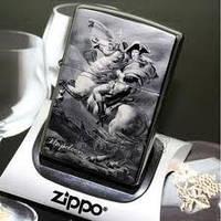"""Зажигалка бензиновая Zippo - """"Napoleon""""."""