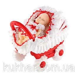 Немовля у візочку 12шт Дівчинка