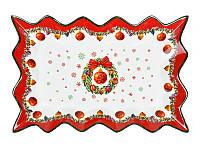 "Блюдо 36 см ""Новогодняя коллекция"", Lefard, 985-010"