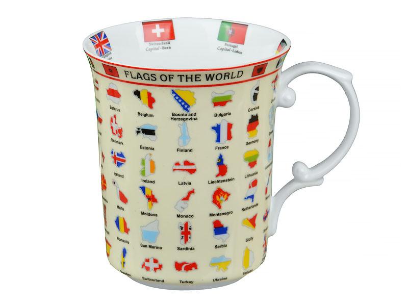 "Чашка ""Карта мира"", 500 мл, Lefard, 985-035"
