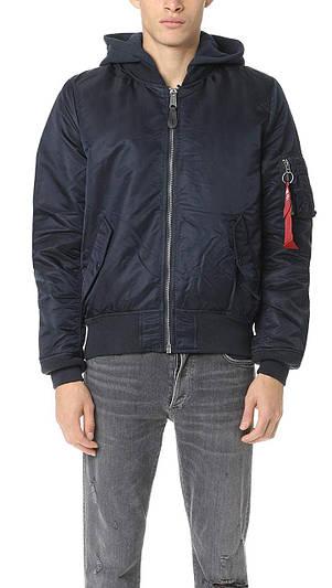 Мужская куртка Alpha Industries MA-1 Natus Replica Blue