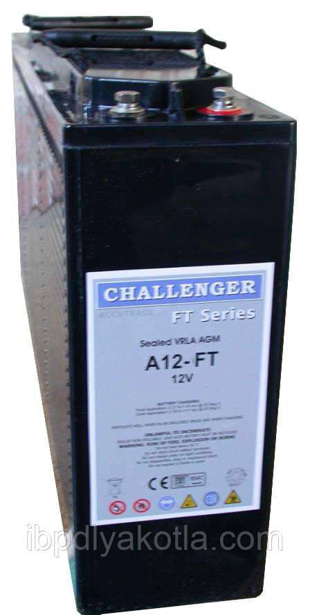 Аккумулятор мультигелевый Challenger A12FT-100 12V 100AH, (AGM) для ИБП