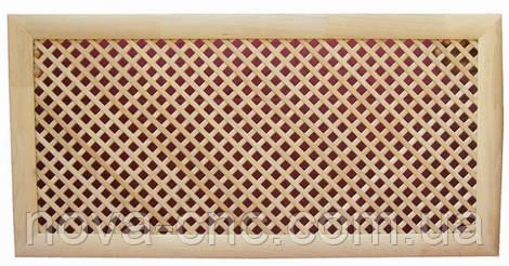 Экран на радиатор отопления из МДФ (фрезерная резка)