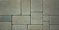 Плитка из камня песчаника окатанная ''Кратная 4-м''
