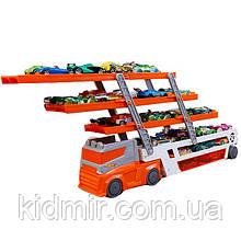 Хот Вилс Автовоз трейлер оранжевый Hot Wheels Mega Hauler Orange