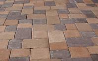 Старая площадь (цветна на сером цементе) 4 см.