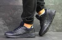 Кроссовки в стиле New Balance 999 (темно синие) кожаные New Balance 6024