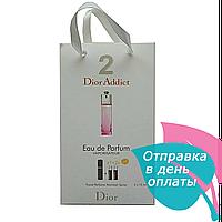 Женская парфюмированная вода с феромонами Dior Dior Addict 2 3х15 мл