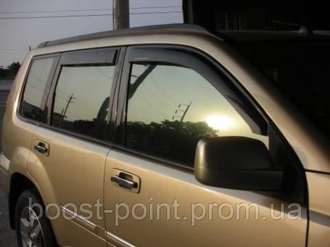 Дефлекторы окон (ветровики) Nissan X-Trail T-30 (ниссан икс-трейл 2000-2007)