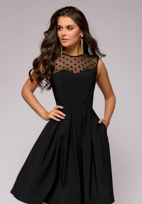 Вечернее клешное платье PR28, фото 1
