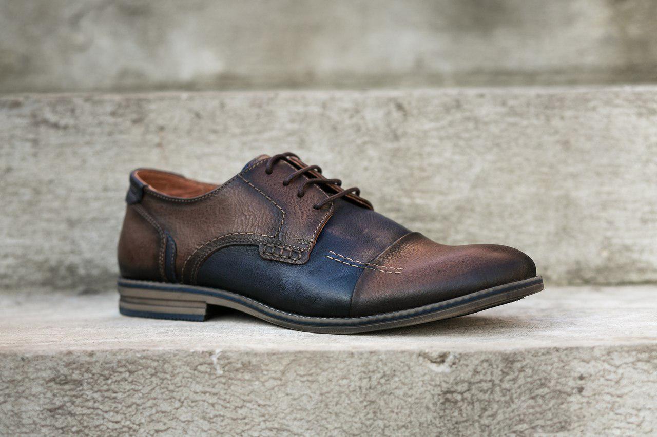 Остання пара - 42 розмір! Туфлі Covalli - взуття для справжніх чоловіків!
