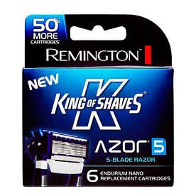 Remington King Of Shaves сменные картриджи 6 шт в упаковке