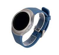 Силиконовый ремешок Primo для часов Samsung Gear S2 Sports SM-R720 / SM-R730 - Sky Blue