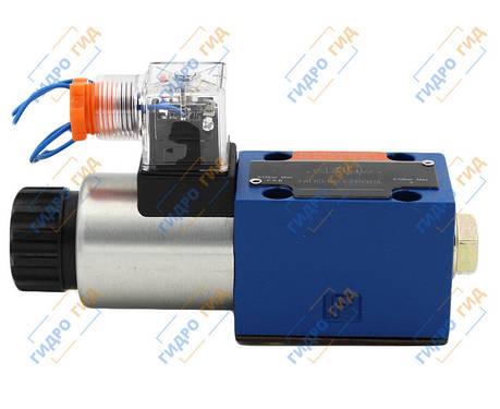 Гидрораспределитель электромагнитный  ДУ10, схема Y (574В), фото 2