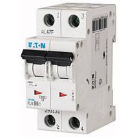 Автоматический выключатель Eaton (Moeller) PL4-C6/2 2 полюса
