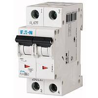 Автоматический выключатель Eaton (Moeller) PL4-C20/2 2 полюса