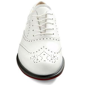 Мужские кожаные белые туфли броги ECCO Golf Tour Hybrid Wingtip Оригинал р- 41 стелька 27 см 720ad75663f