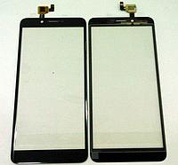Оригинальный тачскрин / сенсор (сенсорное стекло) для Doogee X60L (черный цвет)