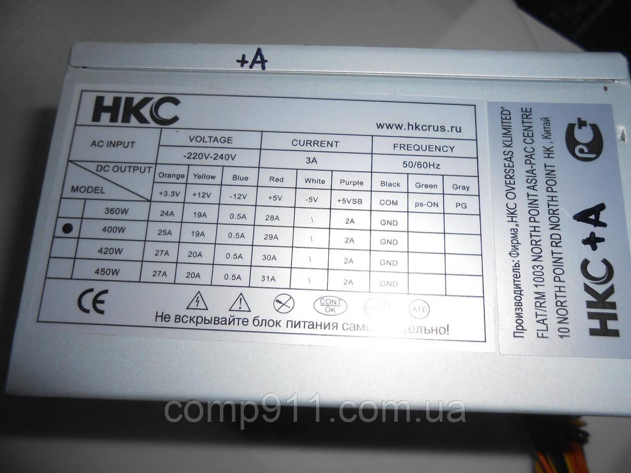 Блок питания HKC 400w , фото 1