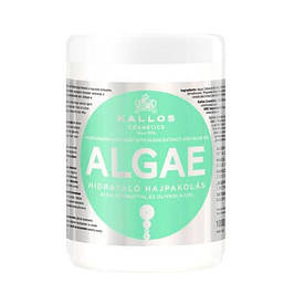 Kallos Cosmetics Algae маска увлажняющая c экстрактом водорослей и оливкового масла 1000 мл
