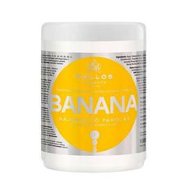 Kallos Cosmetics Banana маска для укрепления волос с экстрактом банана 1000 мл